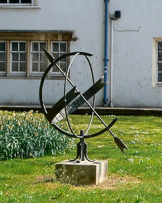Armillary sphere in Oxford