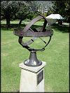 Armillary sphere in the park of the South Australia Governor's palace